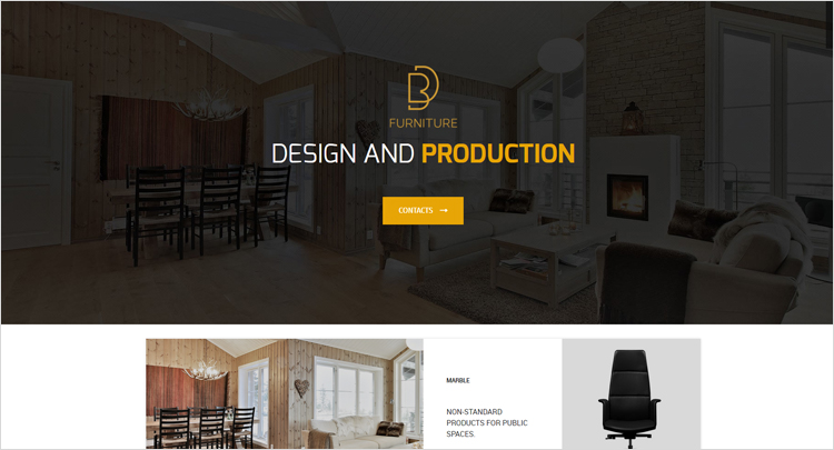 Seo web design company furniture manufacturers